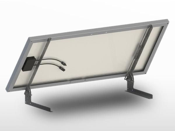 Support panneau solaire Sol-Mur Galva UNIFIX100B   largeur panneau max 560mm