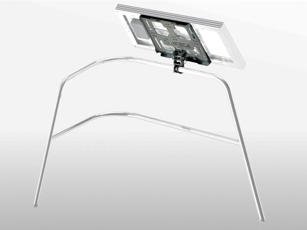 Support panneau solaire nautisme inox - fixation balcon UNIFIX 20.1 WB