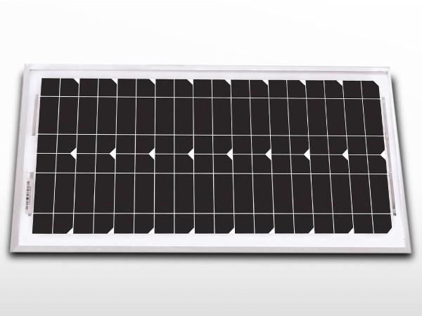 Panneau solaire monocristallin 20W - 24V | UNISUN 20.24 M