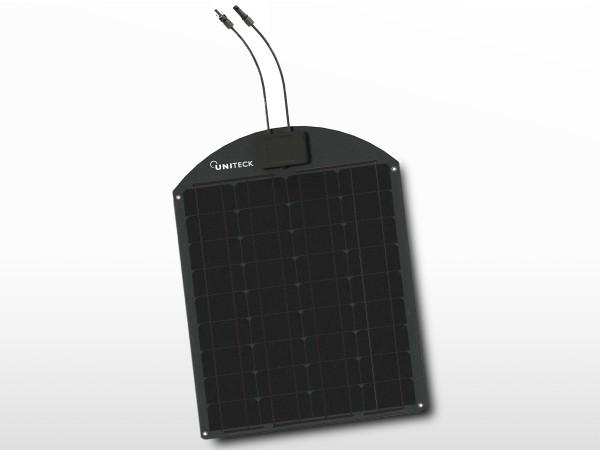 Panneau solaire monocristallin slim 50W - 12V   UNISUN 50.12 MS