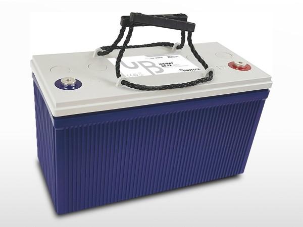 Batterie GEL Plomb Carbone - 12V / 80Ah | UNIBAT 80.12 GEL