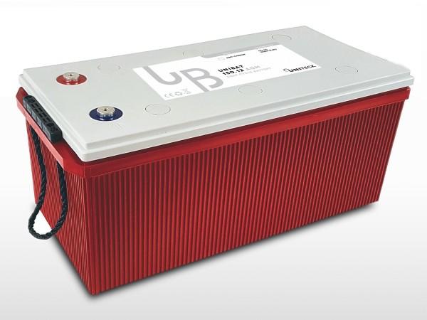 Batterie AGM Plomb Carbone - 12V / 150Ah   UNIBAT 150.12 AGM