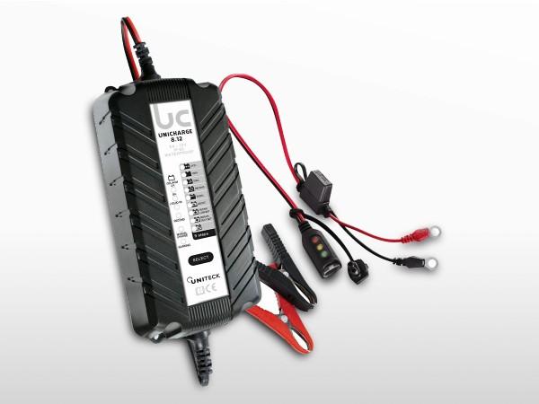 Chargeur de batterie intelligent 6/12V - 8A | UNICHARGE 8.12
