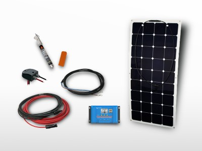 Kit solaire flexible back-contact SUNPOWER 110Wc - 12V