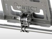 Support nautisme Inox balcon UNIFIX20.1WB | largeur panneau max 300mm inclinaison réglable
