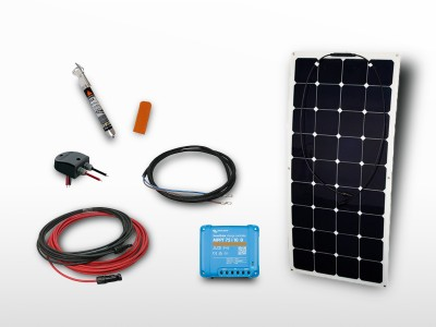 Kit solaire flexible MPPT SUNPOWER 110W | 12V