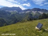 Panneau solaire portable 14W + Chargeur USB   14Wc - 5V