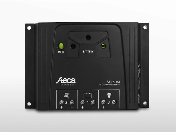 Régulateur solaire STECA SolSum 0808