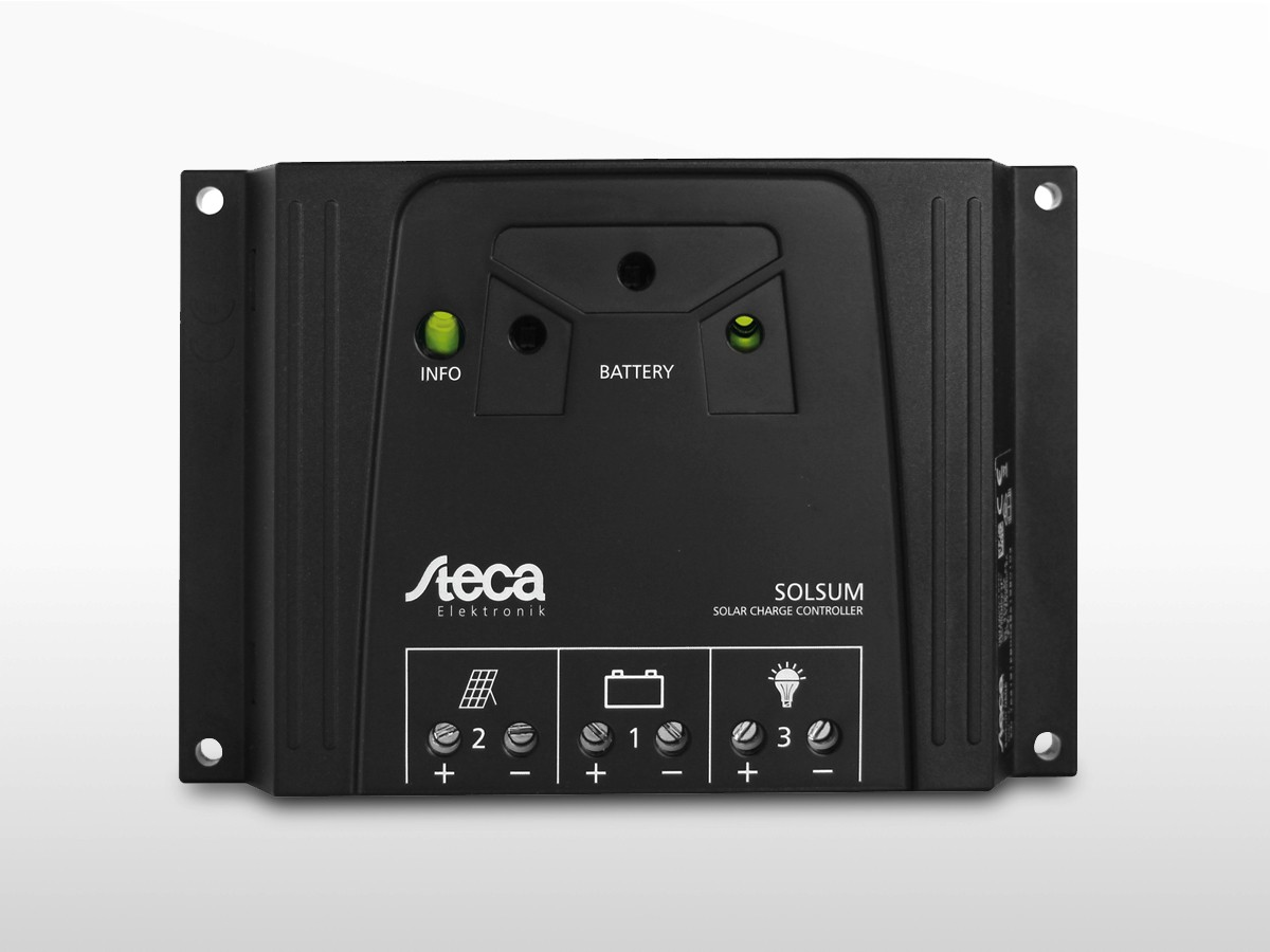 R/égulateur de charge solaire Steca Solsum 4040 12 V 24 V 40 A