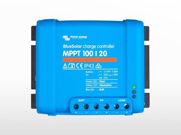 Régulateur MPPT BlueSolar VICTRON 100/20 - 12/24/48V (100V / 20A)