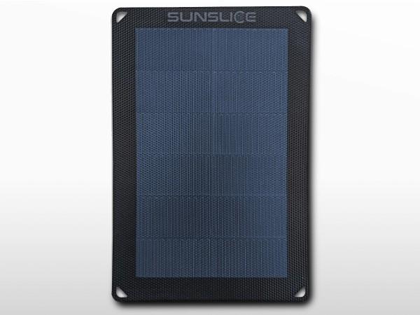 Panneau solaire flexible portable SUNSLICE 6W + chargeur USB | 1.2A