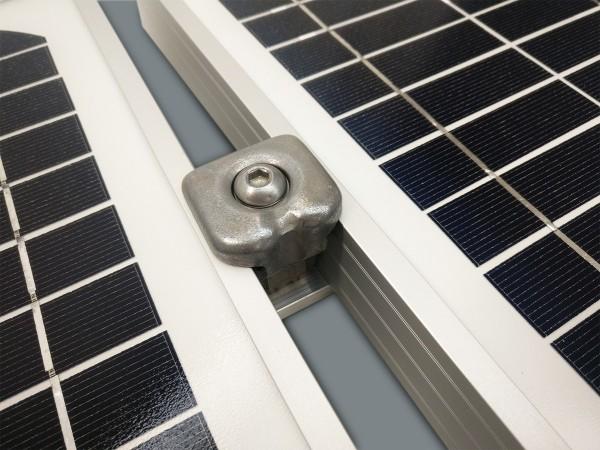 Rallonge/Extension Fixation TOITURE pour Bac acier 1 panneau solaire | Cadre 30-50mm