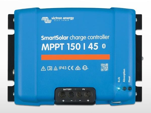 Régulateur VICTRON SmartSolar MPPT 150/45 ( 150V / 45A )