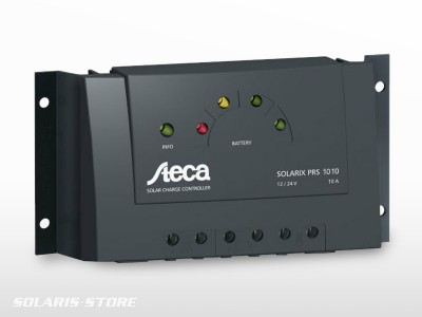 Régulateur solaire STECA Solarix PRS 1010
