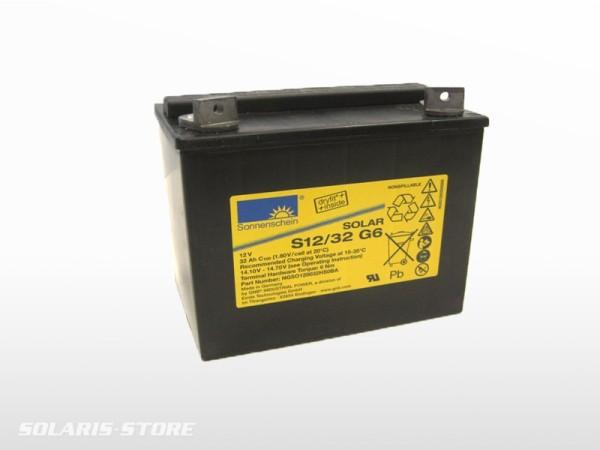 Batterie solaire gel SONNENSCHEIN SOLAR S12/32 G6