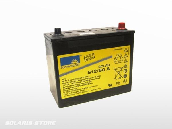 Batterie solaire gel SONNENSCHEIN SOLAR S12/60A