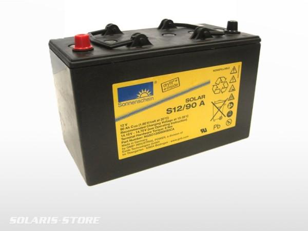 Batterie solaire gel SONNENSCHEIN SOLAR S12/90A