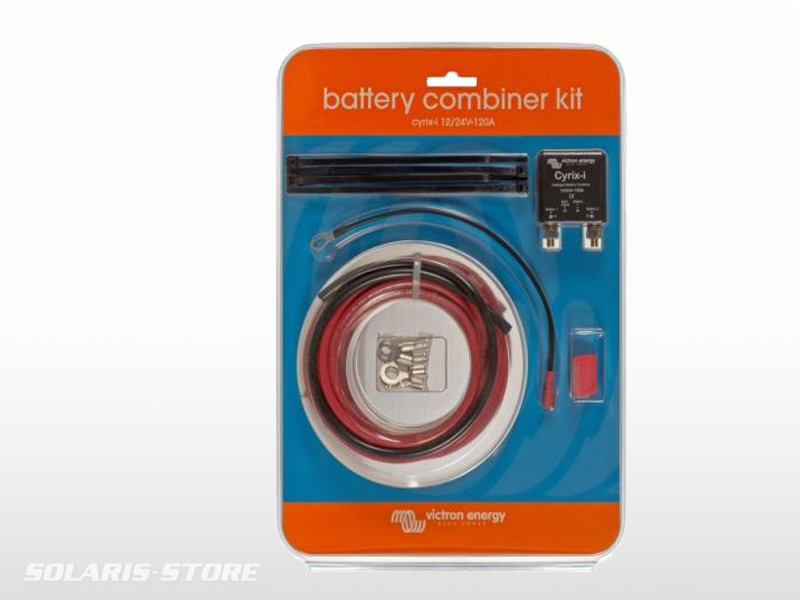 kit complet coupleur de batteries cyrix ct 120a 12v 24v solaris store. Black Bedroom Furniture Sets. Home Design Ideas