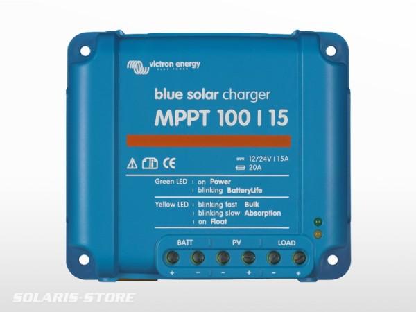 Régulateur solaire VICTRON BlueSolar 100/15