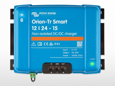 """Chargeur DC """"Booster"""" VICTRON Orion-Tr Smart non-isolé 24/24 - 17A"""