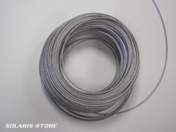 Câble inox pour suspension 4 mm²