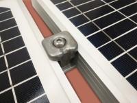 Rallonge/Extension Toiture FIBROCIMENT pour 1 panneau solaire   max 1m