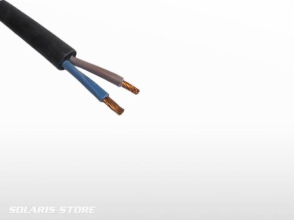 Câble souple immergeable au ML 2 x 1 mm²