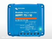 Régulateur VICTRON BlueSolar MPPT 75/10 (75V) | 10A - 12 / 24V