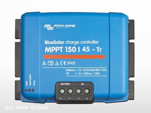 Régulateur VICTRON BlueSolar MPPT 150/45 Tr ( 150V / 45A )
