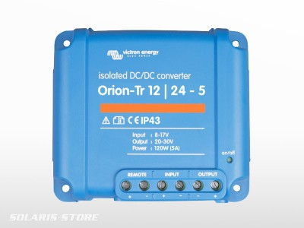 Convertisseur isolé VICTRON Orion 24V / 12V 9A