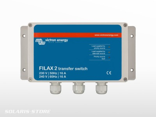 Commutateur de transfert ultra rapide 230V / 50Hz - 240V / 60Hz FILAX 2