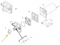 Kit pressostat pour pompe SHURFLO 5030-2201-*010