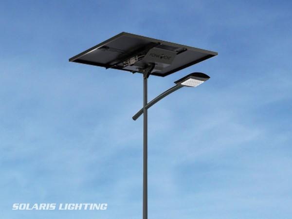 Lampadaire solaire SUN KEY XL 300W pour l'éclairage de route et parking en autonomie