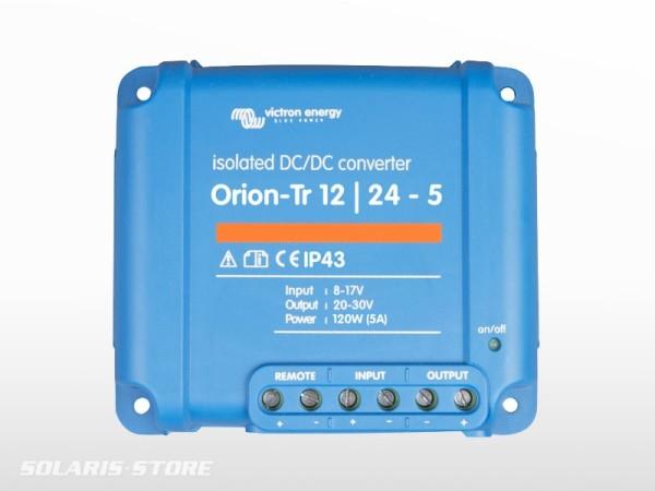 Convertisseur isolé VICTRON Orion 24V / 48V - 6A