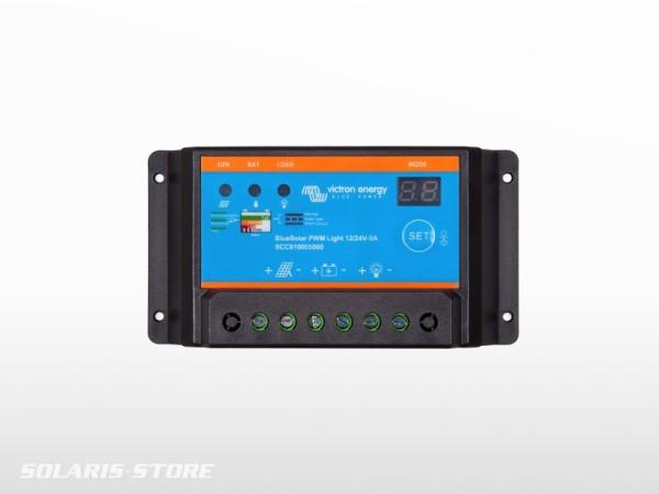 Régulateur solaire VICTRON BlueSolar Light 48V - 10A
