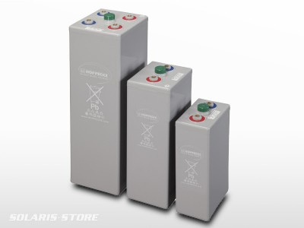 Batterie étanche Gel HOPPECKE OPzV Sun Power VR L 2V
