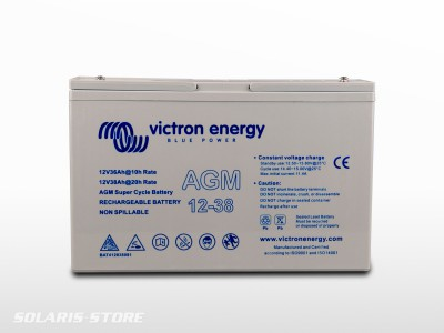 Batterie VICTRON étanche AGM Super Cycle 12V 38Ah
