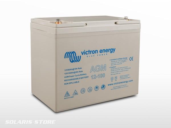 Batterie VICTRON étanche AGM Super Cycle 12V 100Ah