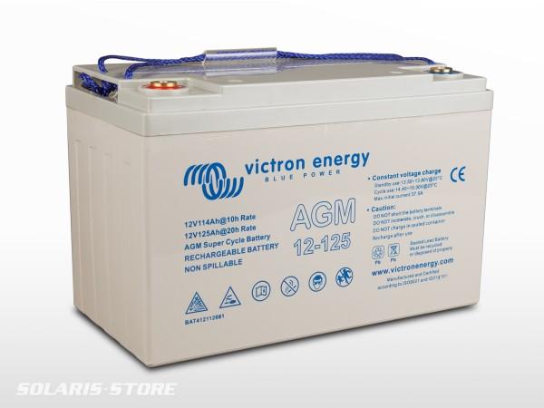 Batterie VICTRON étanche AGM Super Cycle 12V 125Ah