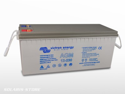 Batterie VICTRON étanche AGM Super Cycle 12V 230Ah