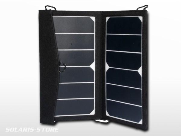 Panneau solaire portable 14W (Cellule SUNPOWER) + Chargeur USB