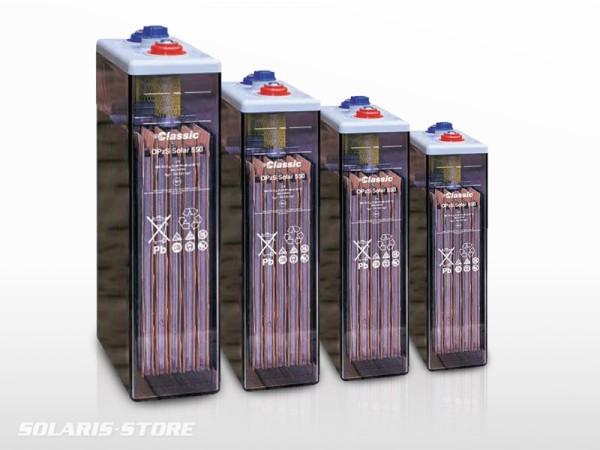 Gamme batterie solaire plomb ouvert GNB Classic OPzS Solar 2V pour parc batterie autonome