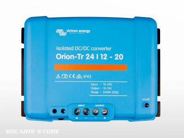 Convertisseur isolé VICTRON Orion-Tr 48/12 V - 30 A