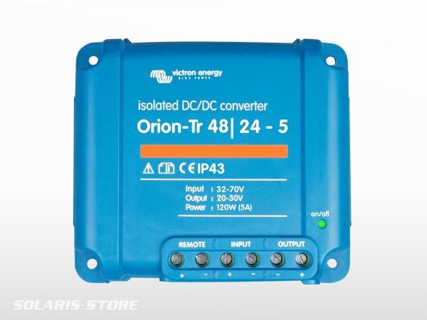 Convertisseur isolé VICTRON Orion-Tr 48/24 V - 5 A