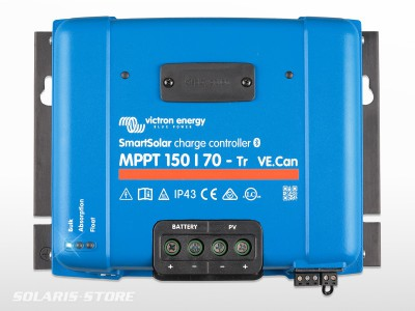 Régulateur solaire VICTRON SmartSolar 150/70 Tr VE.Can