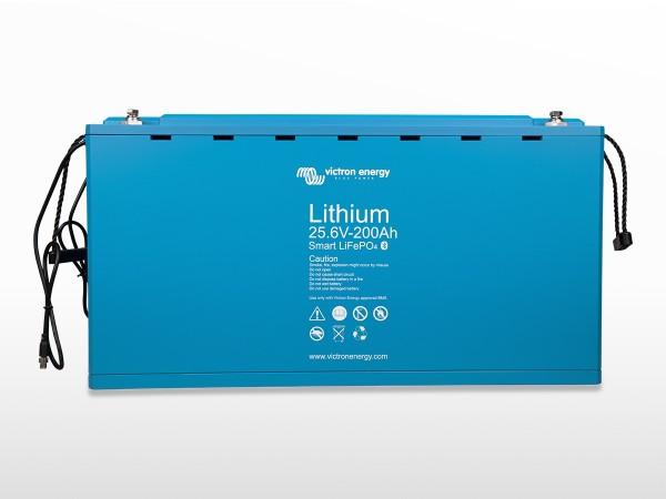 Batterie solaire Lithium LiFePO4 200A / 24V Smart