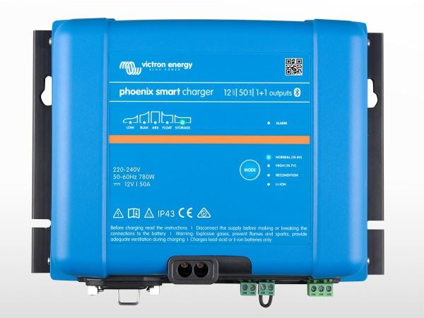 Chargeur VICTRON Phoenix Smart IP43 12/50 (1+1)