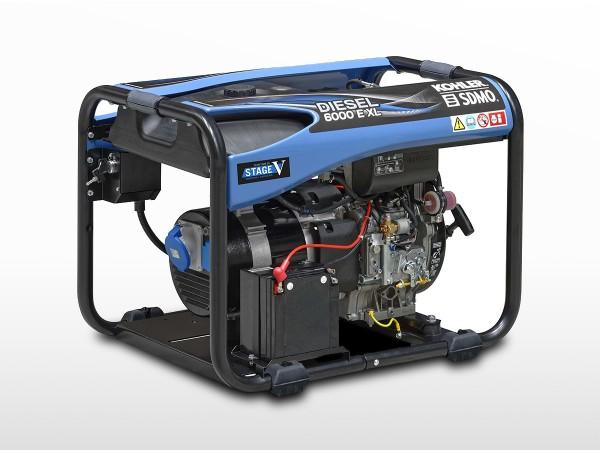Groupe électrogène SDMO diesel 4900W   DIESEL 6000 A XL C5
