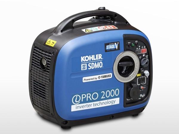 Groupe électrogène essence SDMO-Yamaha Inverter Pro 2000 leger & compact
