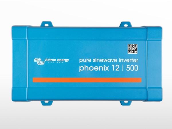 Onduleur VICTRON Phoenix 12V / 500VA VE.Direct Schucko